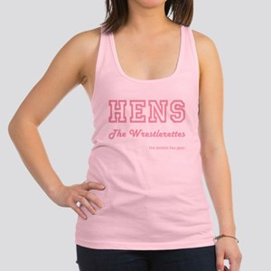 HENS (PINK) Racerback Tank Top