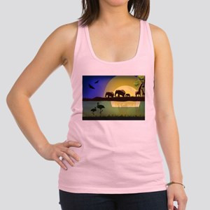 Animals African Landscape Tank Top