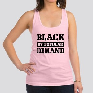 Black by popular design Racerback Tank Top