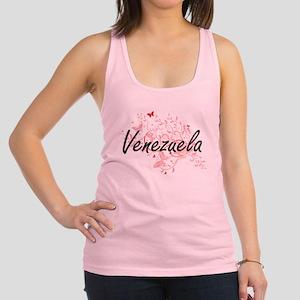 Venezuela Artistic Design with Racerback Tank Top