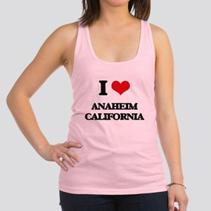 I love Anaheim California Racerback Tank Top
