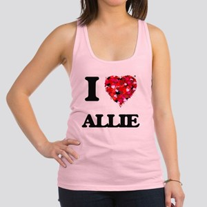 I Love Allie Racerback Tank Top