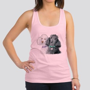 Two Poodles Racerback Tank Top