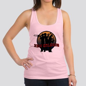 New Orleans Jazz Players Racerback Tank Top