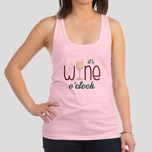 Wine OClock Racerback Tank Top