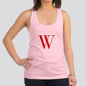 W-bod red2 Racerback Tank Top