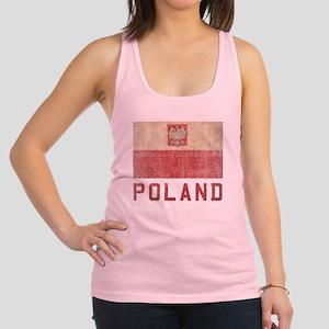 Vintage Poland Racerback Tank Top