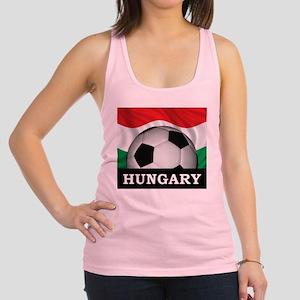 Hungary Football Racerback Tank Top
