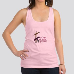 4 Given Racerback Tank Top