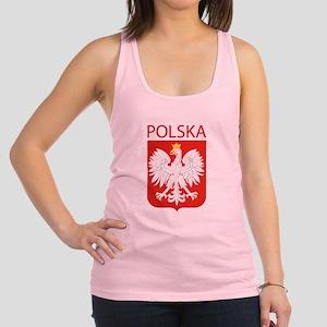 Polska Eagle Racerback Tank Top