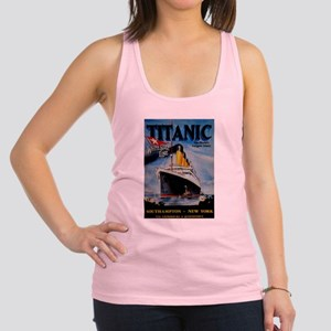 Vintage Titanic Travel Racerback Tank Top