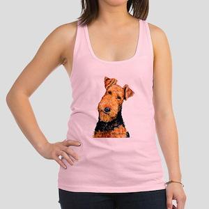 Airedale Terrier Racerback Tank Top