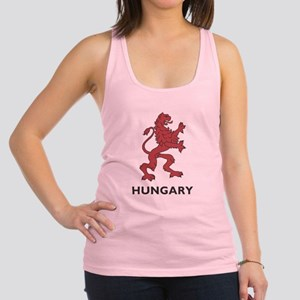 Hungary Lion Racerback Tank Top