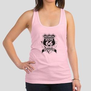 Historical Route 66 Missouri Racerback Tank Top