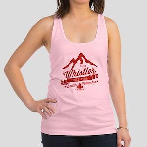Whistler Mountain Vintage Racerback Tank Top