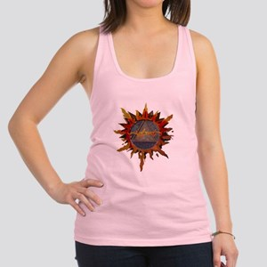 Sacred Symbol Recovery Racerback Tank Top