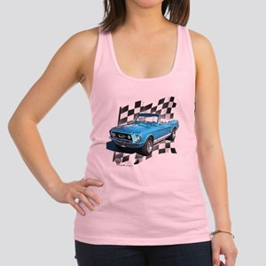 67blue Racerback Tank Top