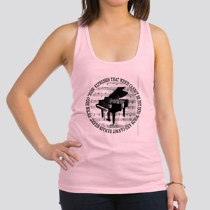 Music Tshirt2 Racerback Tank Top