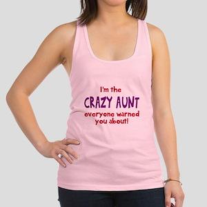 Crazy Aunt Racerback Tank Top