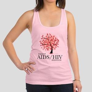 AIDSHIV-Tree Racerback Tank Top