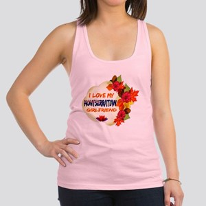 Montserratian Girlfriend design Racerback Tank Top