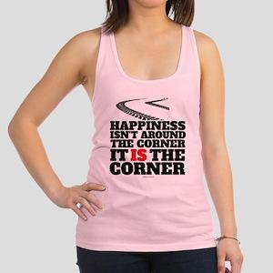 Happiness Isn't Around The Corn Racerback Tank Top
