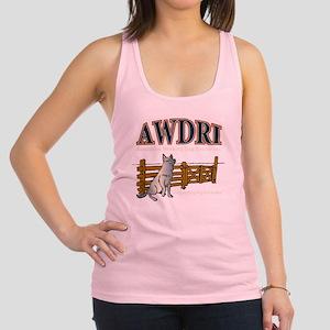 AWDRI Logo1 Racerback Tank Top