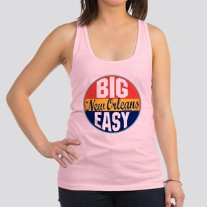 New Orleans Vintage Label W Racerback Tank Top
