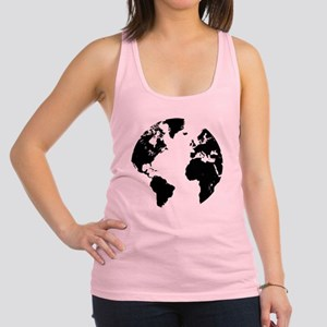 the world Racerback Tank Top