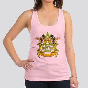 God Save the Queen Racerback Tank Top
