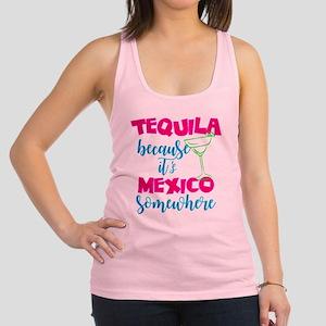 Neon Tequila Margarita Mexico Blacklight Tank Top