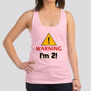 warningim2 Racerback Tank Top