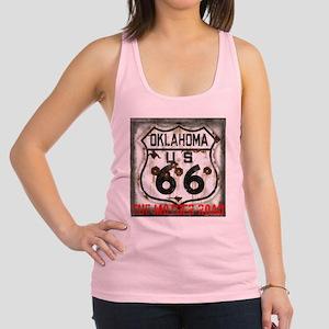 Oklahoma Route 66 Classic Racerback Tank Top