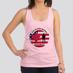 6th Infantry Division Racerback Tank Top