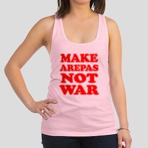 Make Arepas Not War Racerback Tank Top