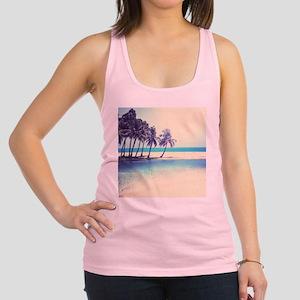 Tropical Beach Racerback Tank Top