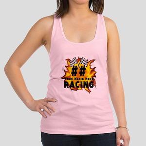 Flaming Racing Tank Top