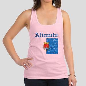 Alicante flag designs Racerback Tank Top