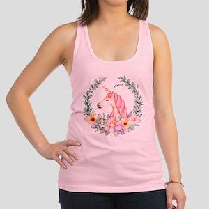 Pink Unicorn Tank Top
