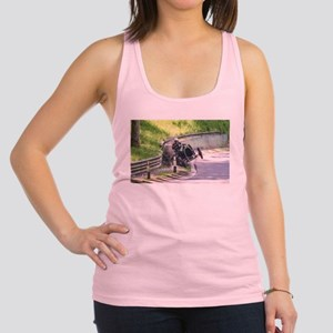 BUGATTI T13 CRASH Racerback Tank Top