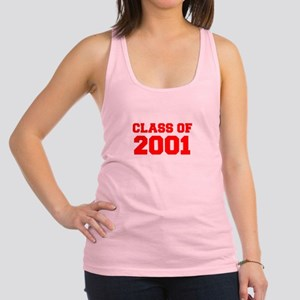 CLASS OF 2001-Fre red 300 Racerback Tank Top