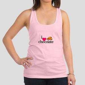 I Love Chocolate/Cookies Racerback Tank Top