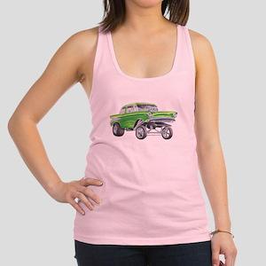57 Green Gasser  Racerback Tank Top
