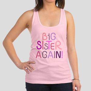 Big Sister Again Racerback Tank Top