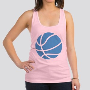 Basketball Carolina Blue Racerback Tank Top