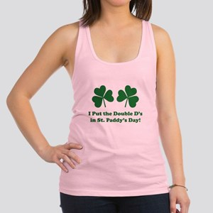 Double D's St. Paddy's Day Racerback Tank Top