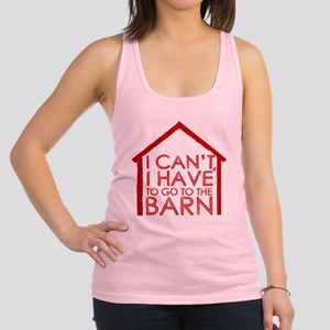 To The Barn Racerback Tank Top