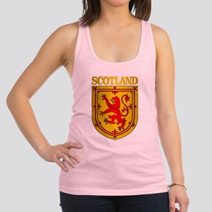 Scotland (COA) Racerback Tank Top