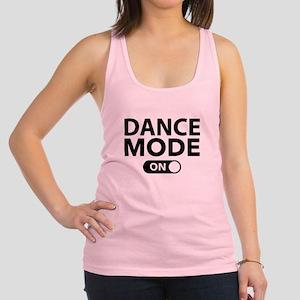 Dance Mode On Racerback Tank Top