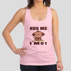 Hug Me I Am 01 Racerback Tank Top